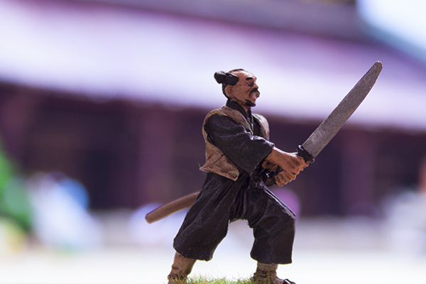 figurine initiate with katana ronin koryu buntai north star