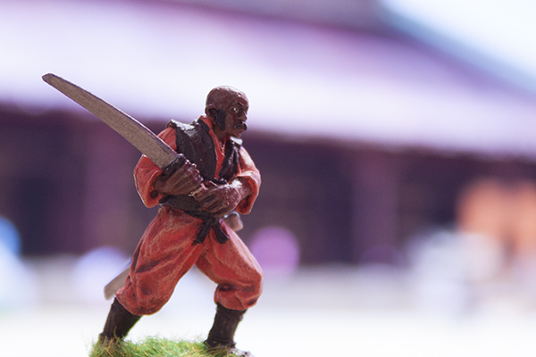 figurine senior student with katana ronin koryu buntai north star