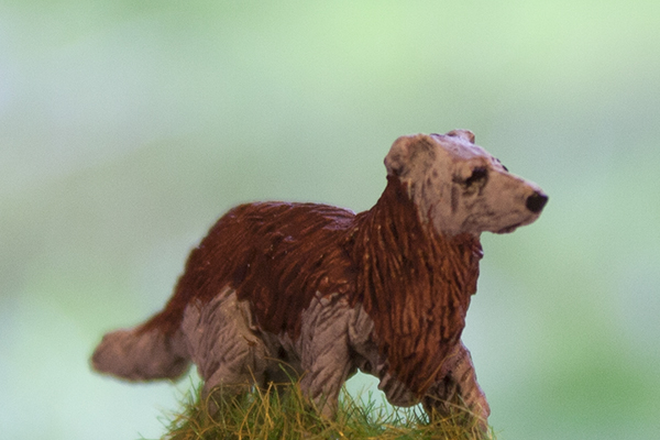 figurine chien collie