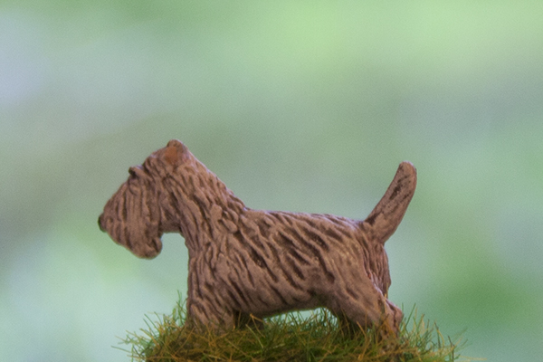 figurine chien scottish terrier