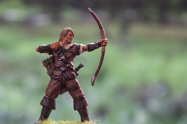 figurine archer