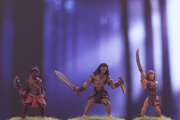 fearless heroes, dark fable miniatures