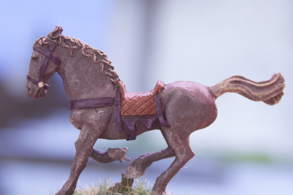 Breton Light Cavalry Horse, figurine cheval
