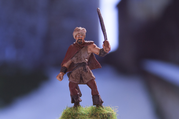 figurine guerrier