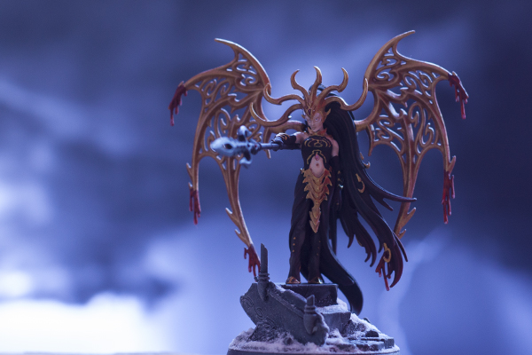 morathi, the high oracle of khaine, warhammer